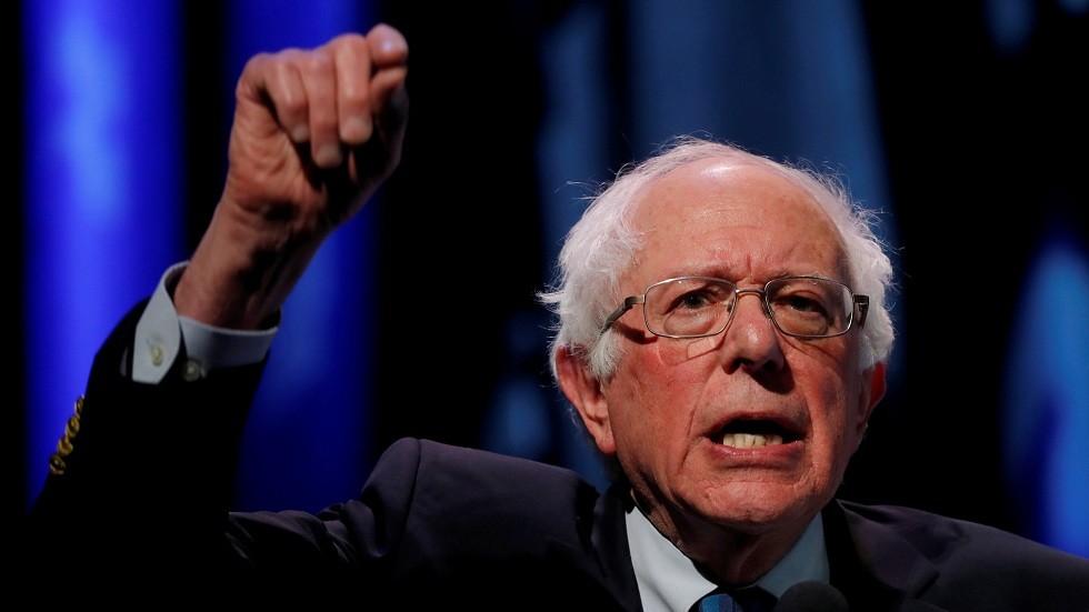 السناتور الديمقراطي والمرشح المحتمل للرئاسة الأمريكية برني ساندرز