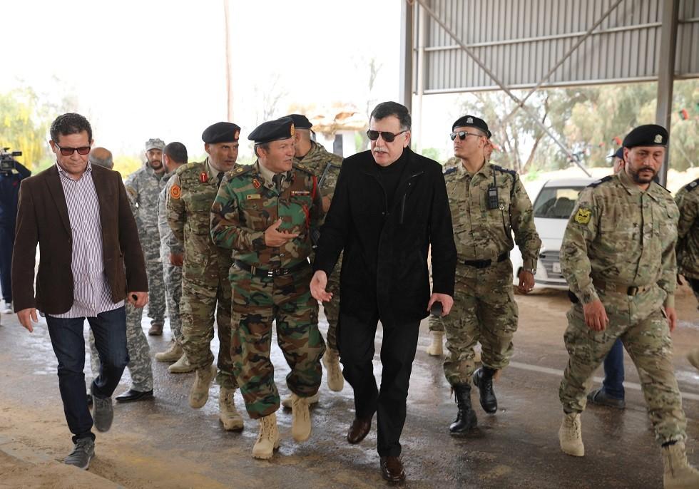 رئيس المجلس الرئاسي التابع لحكومة الوفاق الليبية فايز السراج