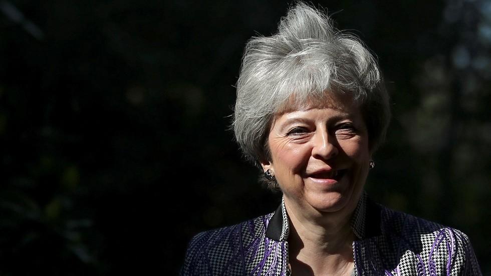ماي تدعو زيلينسكي لزيارة بريطانيا