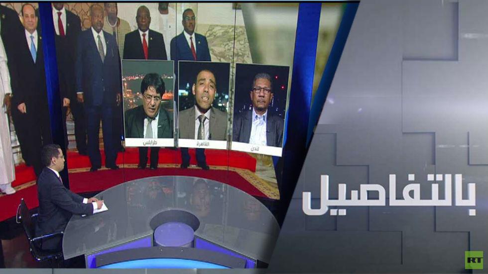 ليبيا والسودان.. رسائل من القاهرة
