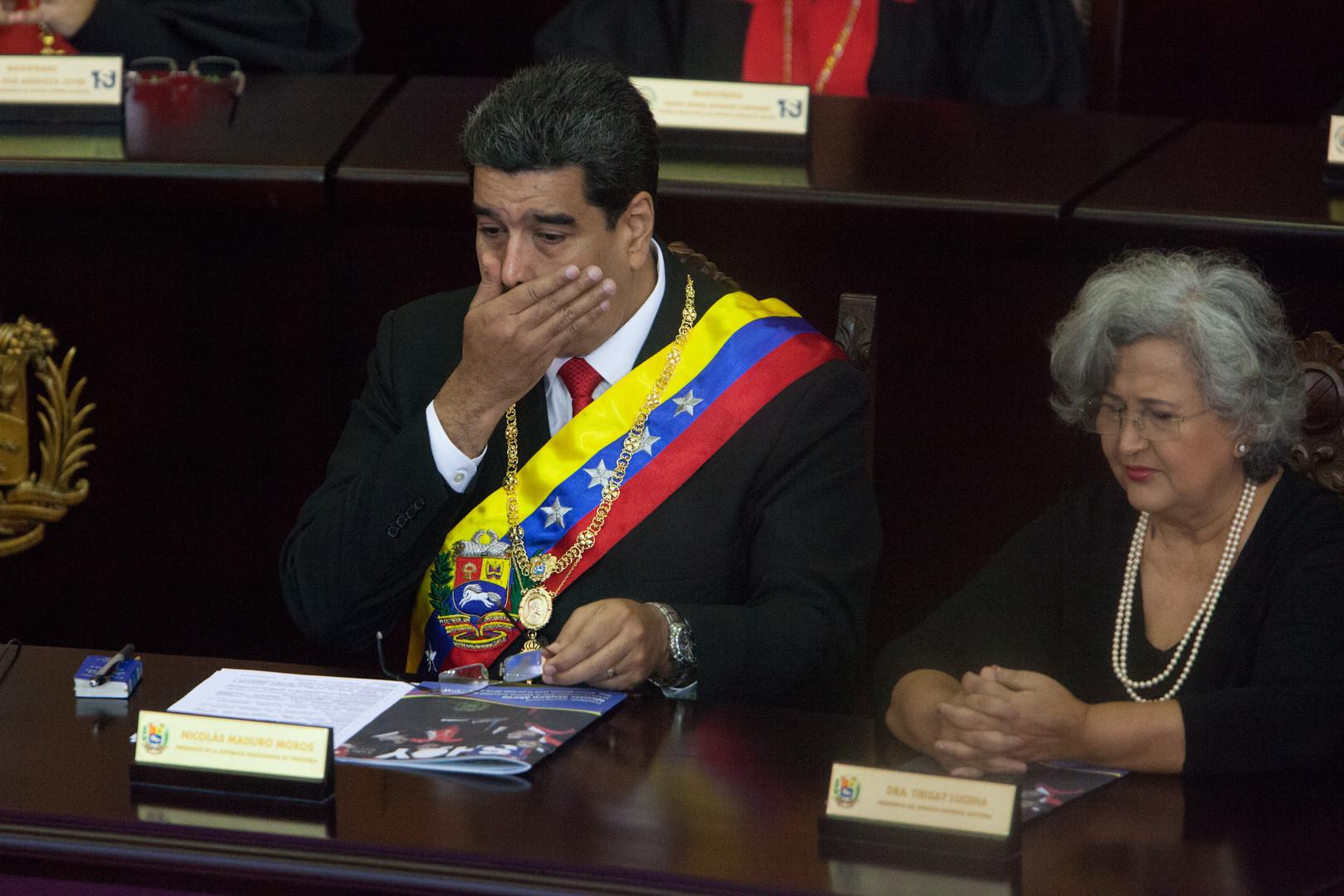 مادورو بدور القذافي