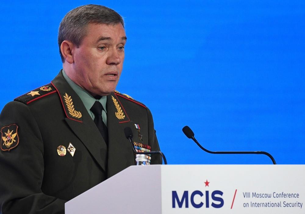 رئيس هيئة الأركان العامة في القوات المسلحة الروسية، الجنرال فاليري غيراسيموف