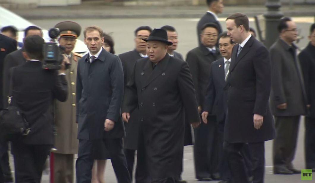 الزعيم الكوري الشمالي يصل إلى فلاديفوستوك استعدادا لقمته مع الرئيس الروسي