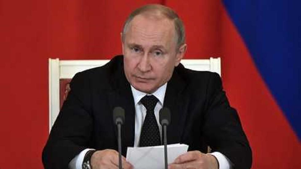 بوتين ينتقد بشدة سياسة الهيمنة والابتزاز والعقوبات التي تنتهجها واشنطن