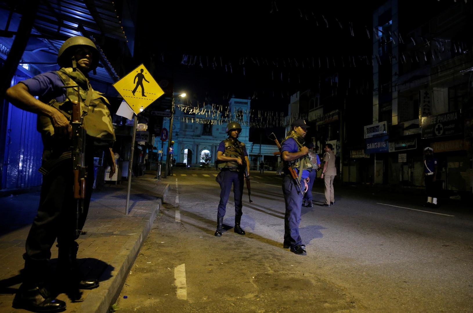 انفجار جديد غربي سريلانكا