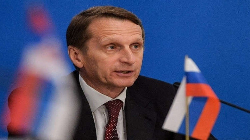 سيرغي ناريشكين، مدير جهاز الاستخبارات الخارجية  الروسية