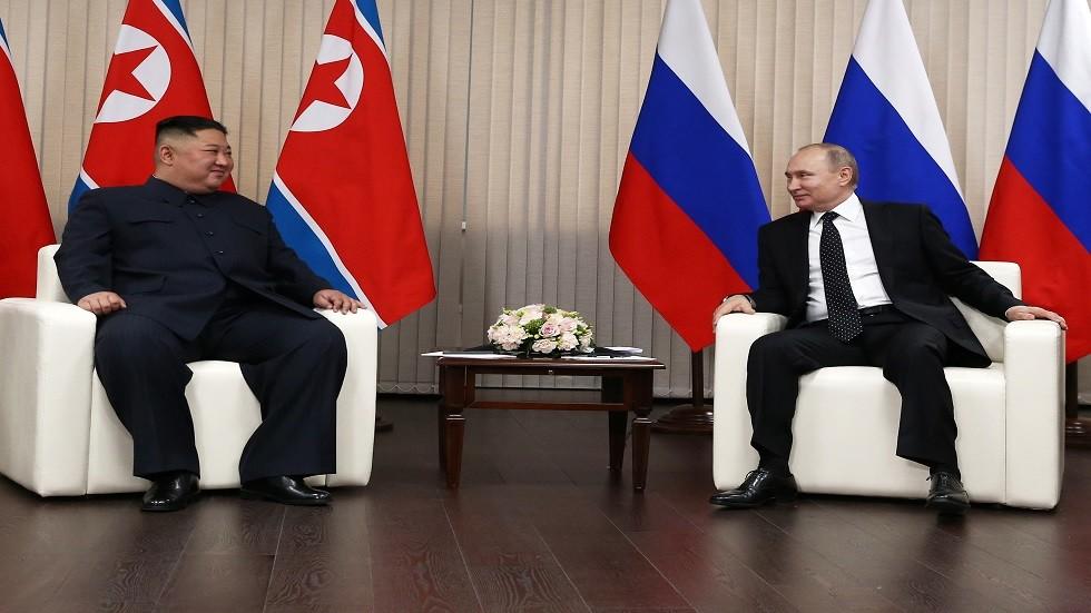 لقاء بوتين كيم استغرق ثلاث ساعات ونصف