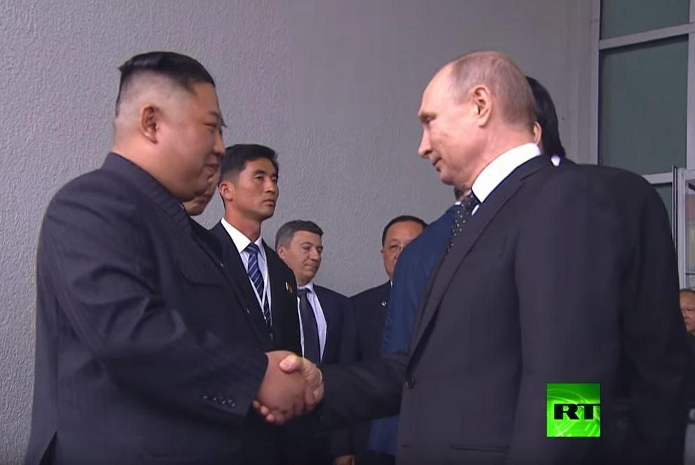 هكذا ودع فلاديمير بوتين كيم جونغ أون