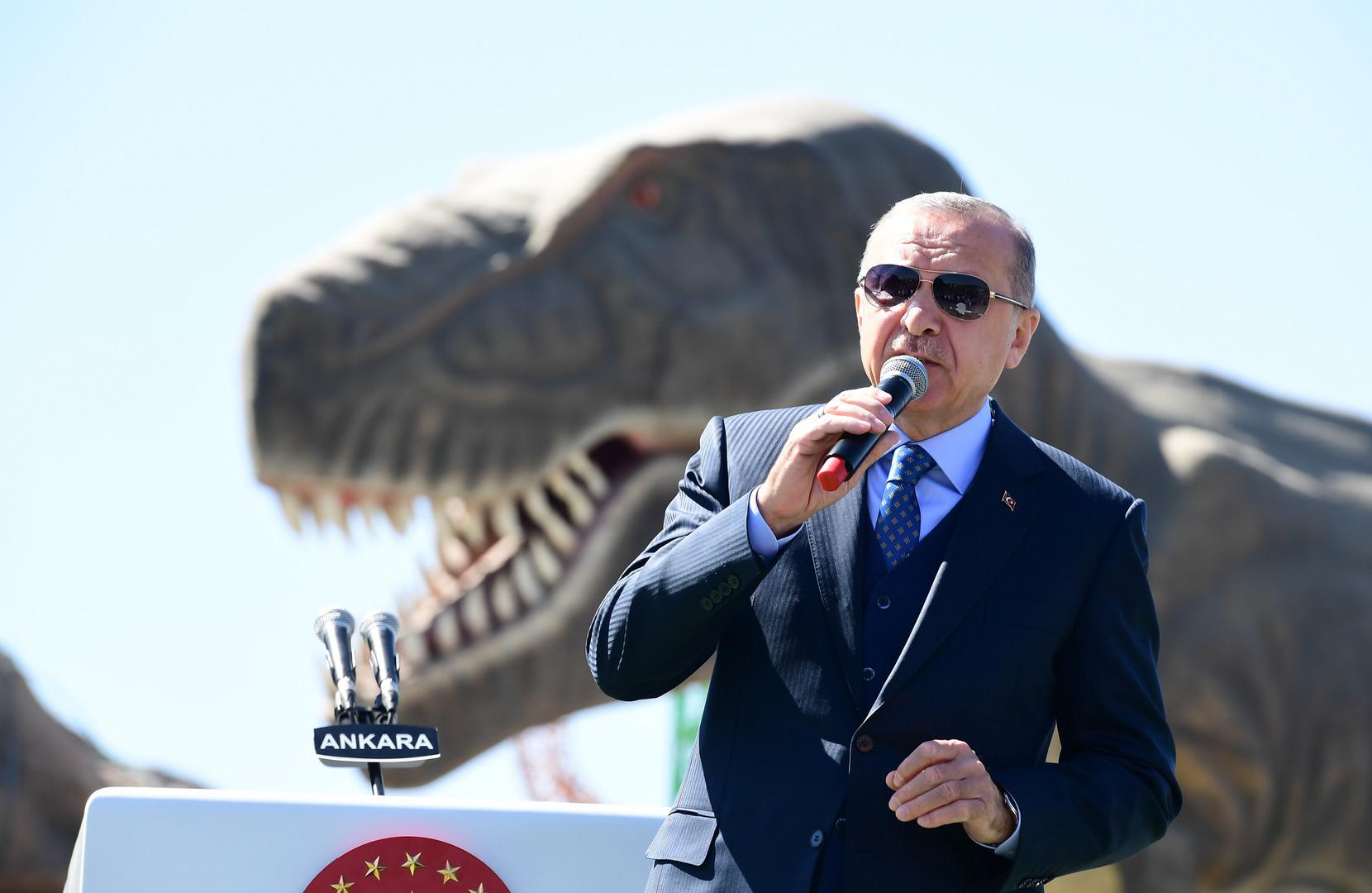 الانتفاضة ضد الرئيس التركي تختمر