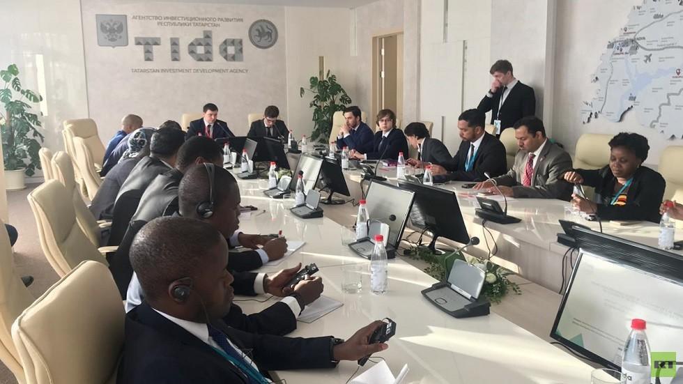 منتدى الدبلوماسيين الشباب في قازان