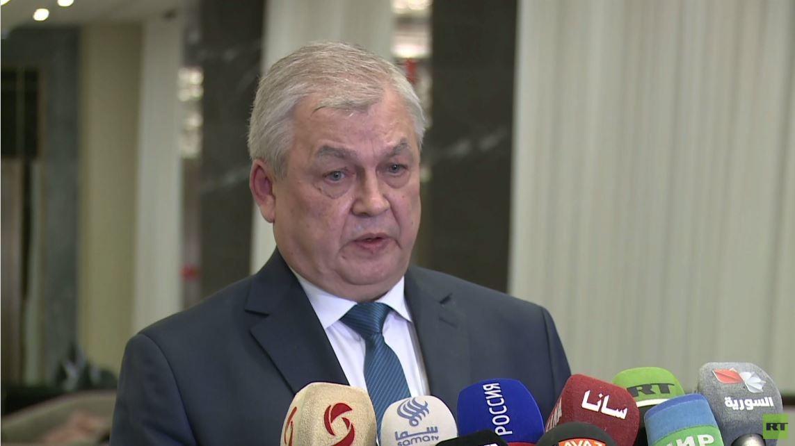 لافرينتييف: نحن في الطريق الصحيح نحو إطلاق اللجنة الدستورية السورية