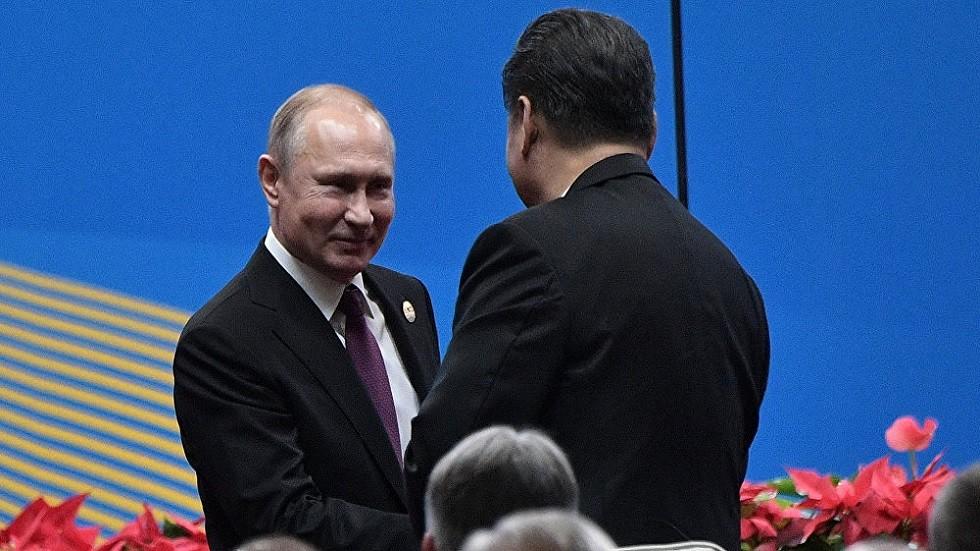 بوتين: علاقاتنا مع الصين في أوجها