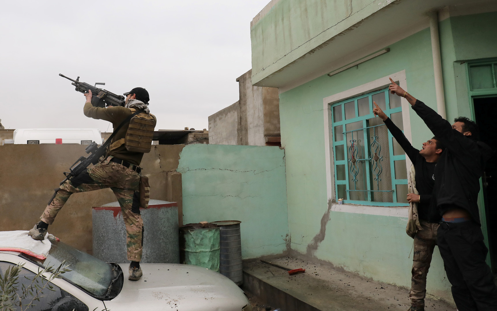 تصفية 6 إرهابيين في العراق