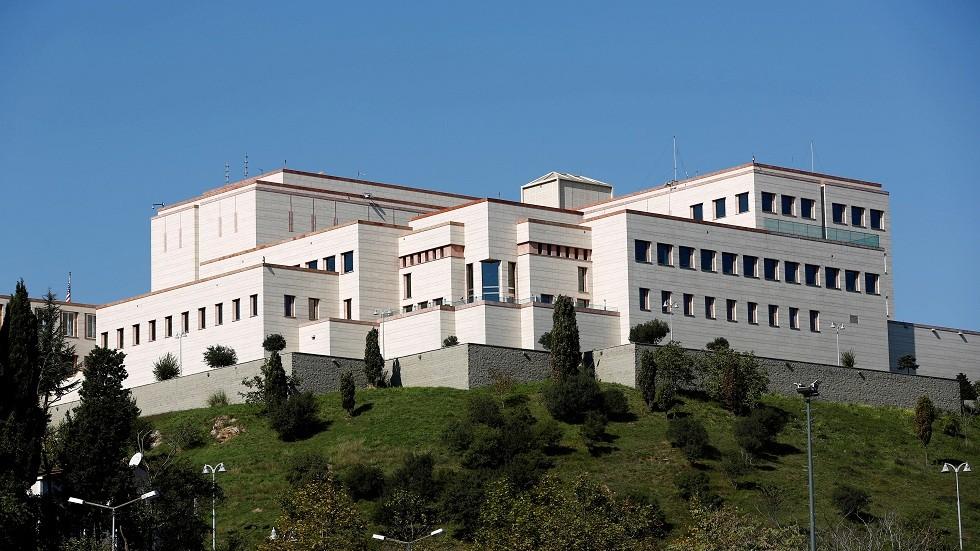 القنصلية الأمريكية في إسطنبول (صورة من الأرشيف)
