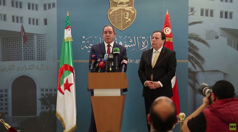 اجتماع تونسي جزائري حول ليبيا