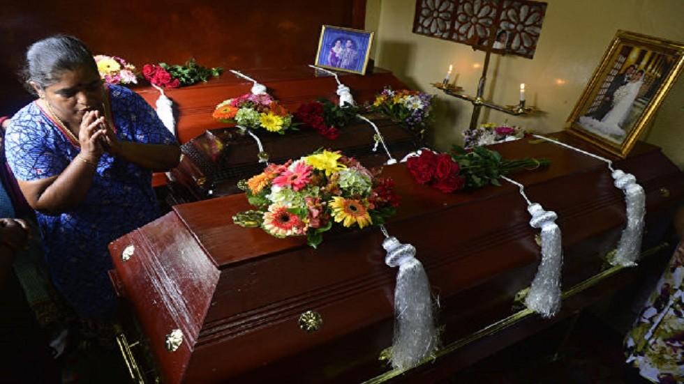 قتلى التفجيرات الإرهابية في سريلانكا