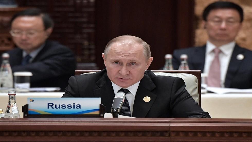 بوتين: روسيا زادت صادراتها من الغاز المسال بأكثر من 70%