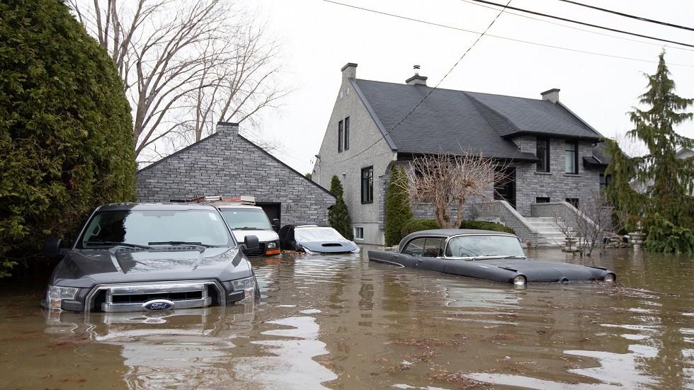 الفيضانات في كندا