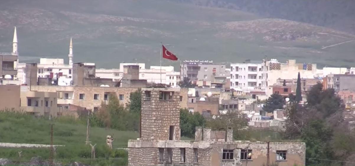 رفض للجدار التركي حول مدينة عفرين