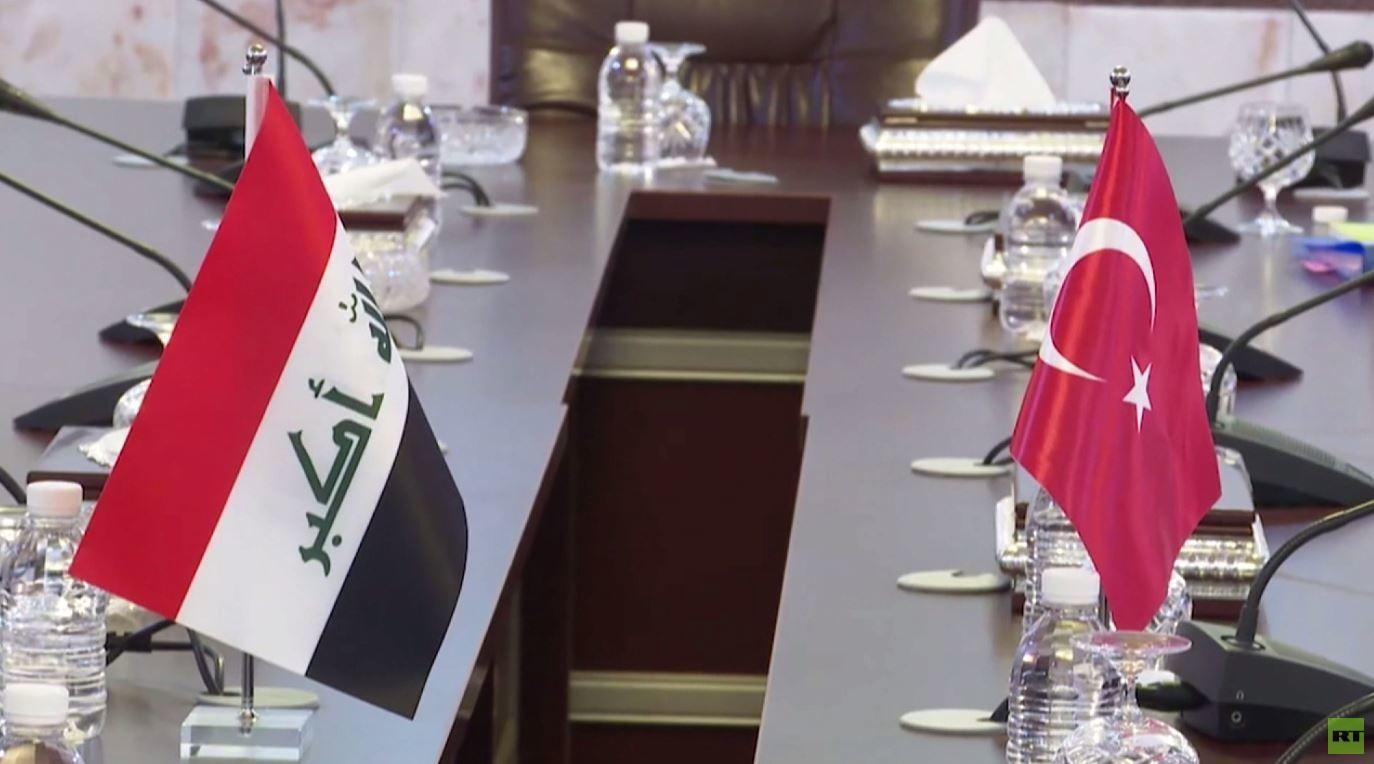 مباحثات لوزير الخارجية التركي في العراق