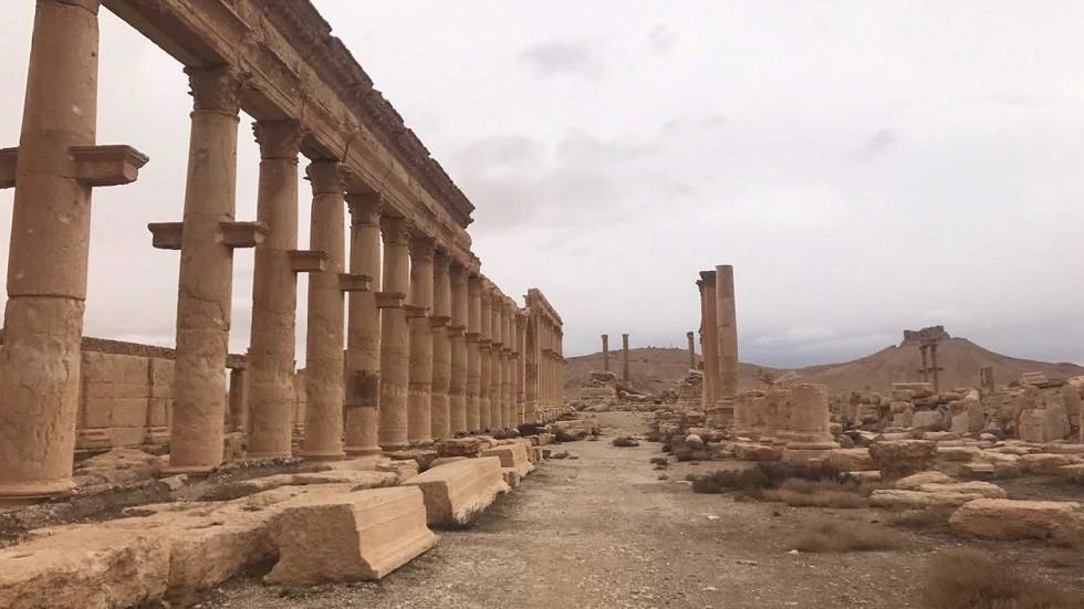 آثار مدينة تدمر السورية