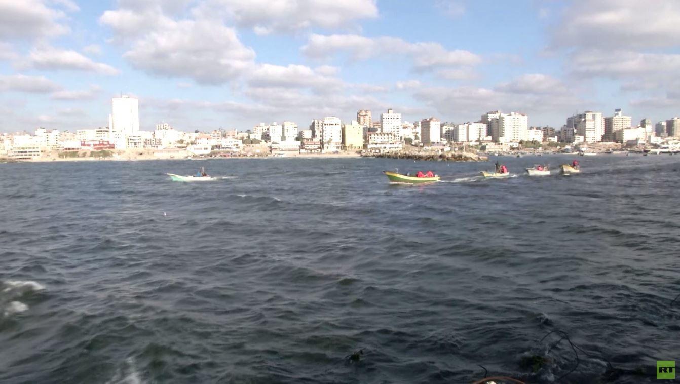إسرائيل تقلص مساحة الصيد ببحر غزة مجددا