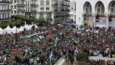 احتجاجات في العاصمة الجزائرية الجمعة 12 أبريل 2019