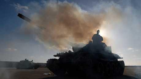 المعارك في العاصمة الليبية طرابلس
