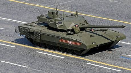 """صحيفة أمريكية: دبابة """"أرماتا"""" الروسية ثورة حقيقية في صناعة الدبابات"""