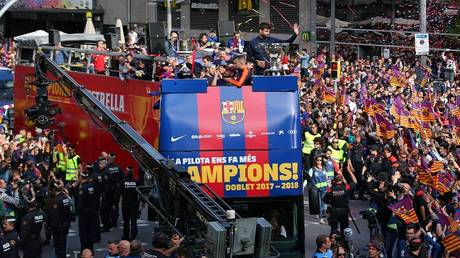 Barcelona ready to crown the title of the Liga tomorrow