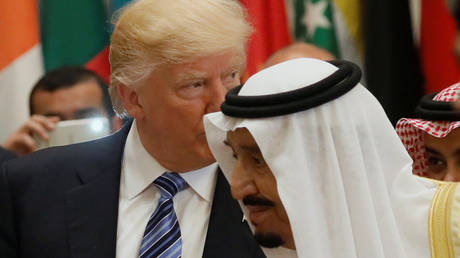 Trump reveals details of a phone call that stunned King Salman