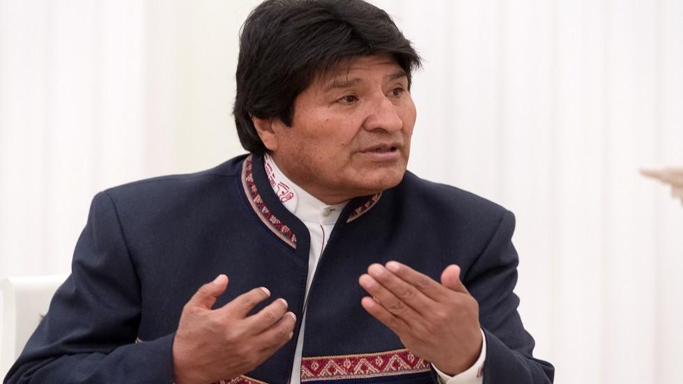 رئيس بوليفيا إيفو موراليس