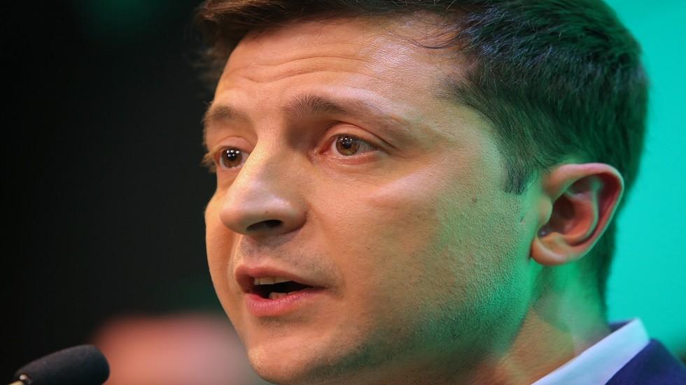 فلاديمير زيلينسكي -رئيس أوكرانيا المنتخب