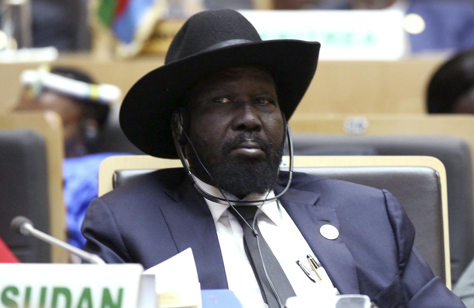 رئيس جنوب السودان سلفاكير ميارديت