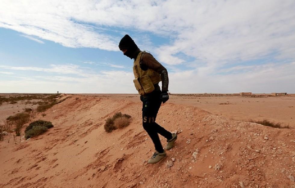 قوات الحشد الشعبي تنفذ عملية عسكرية لتطهير الحدود العراقية السورية