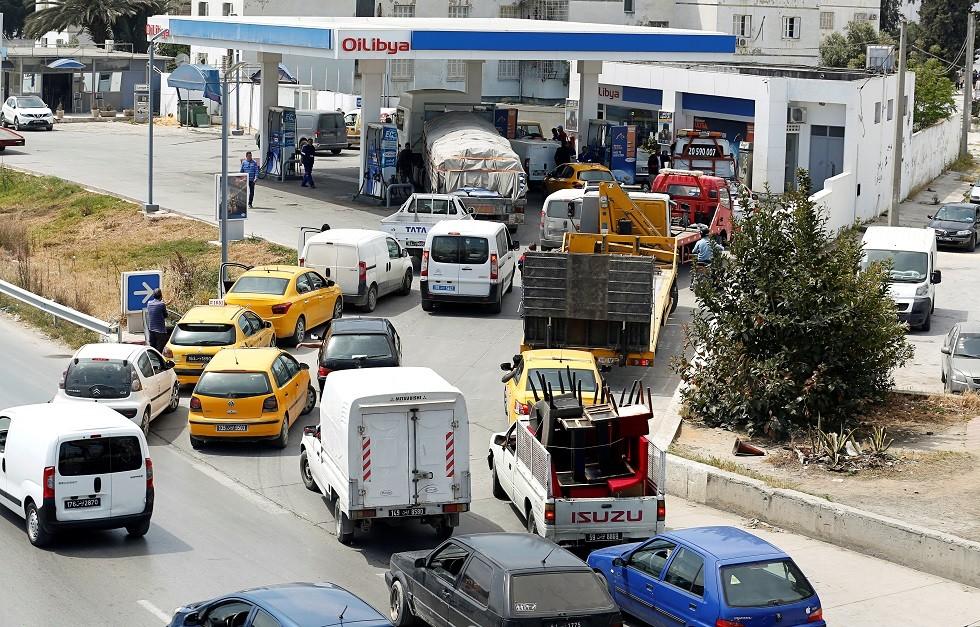 محطة بنزين في تونس