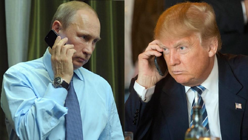 الرئيسان الروسي، فلاديمير بوتين، والأمريكي، دونالد ترامب