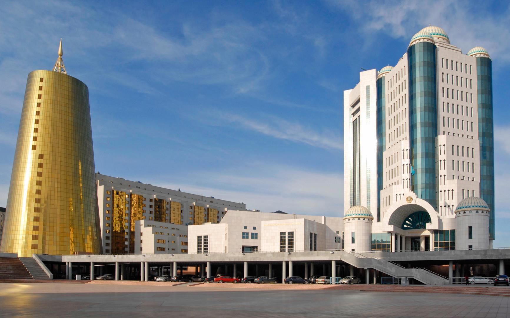 مبنى برلمان كازاخستان في نورسلطان، أرشيف