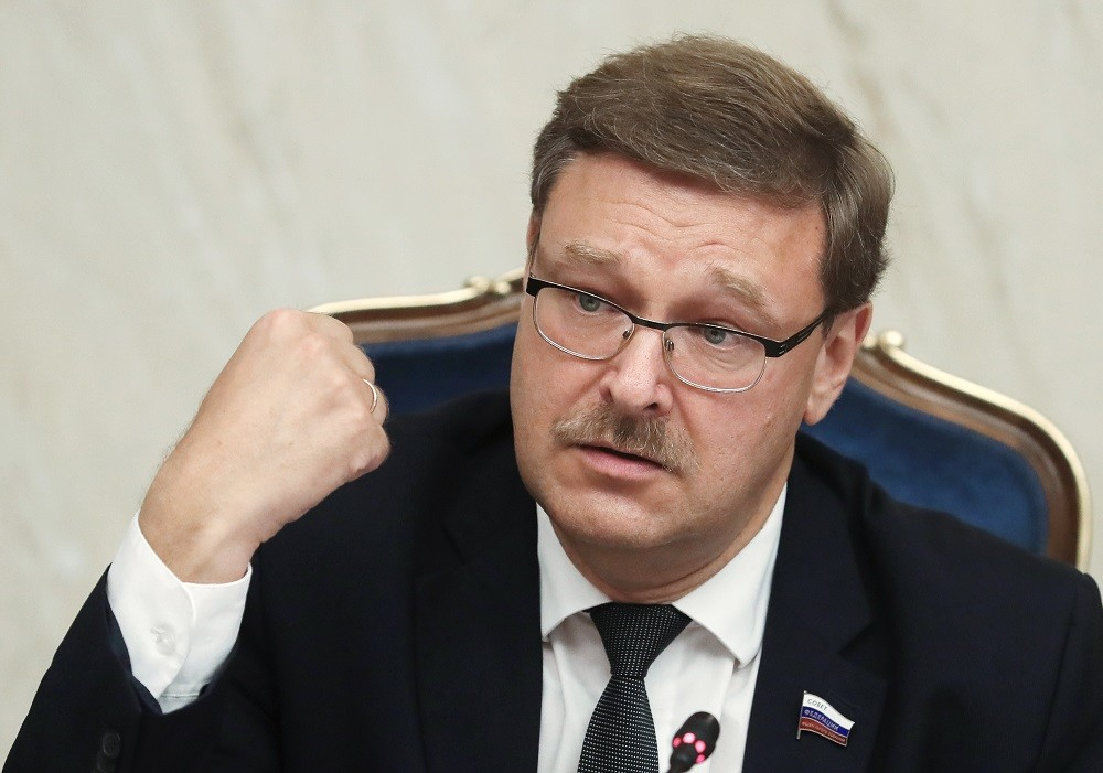 رئيس لجنة الشؤون الدولية بمجلس الاتحاد الروسي، قسطنطين كوساتشوف