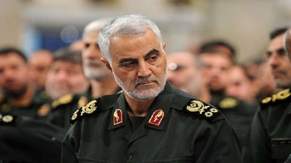 قائد فيلق القدس التابع للحرس الثوري الإيراني قاسم سليماني