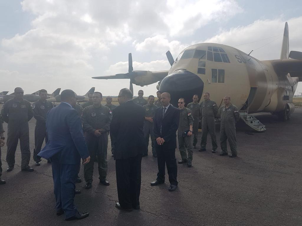 مصر ترسل طائرتي مساعدات إنسانية إلى موزمبيق لمواجهة آثار الإعصار (صور)