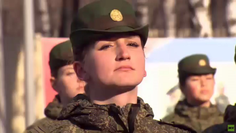 فتيات الجيش الروسي