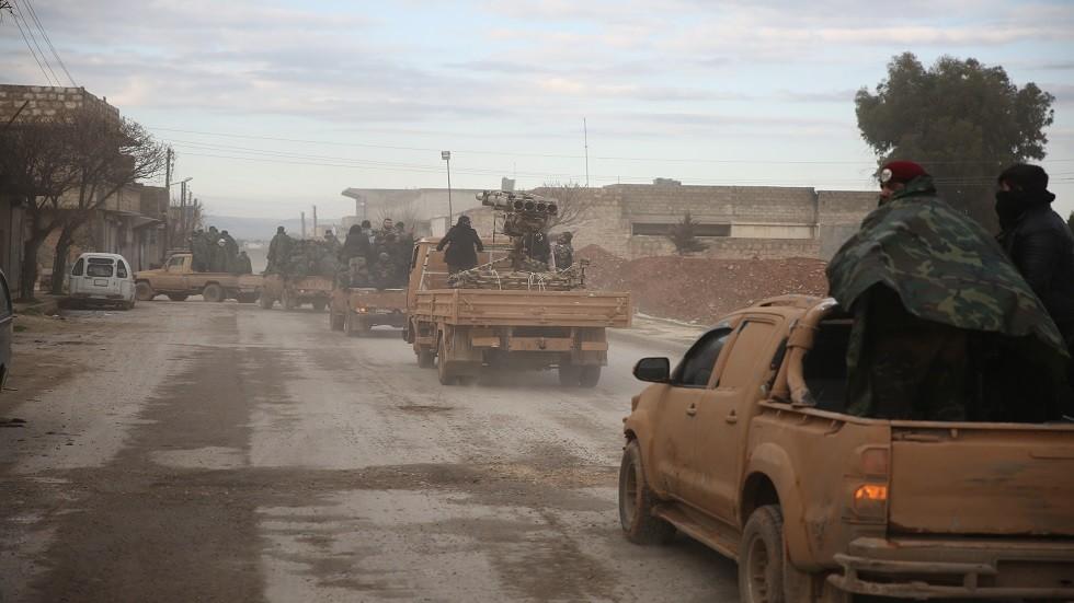 مصدر أمني سوري يكشف تفاصيل هجوم المعارضة المسلحة على قريتين بريف حلب