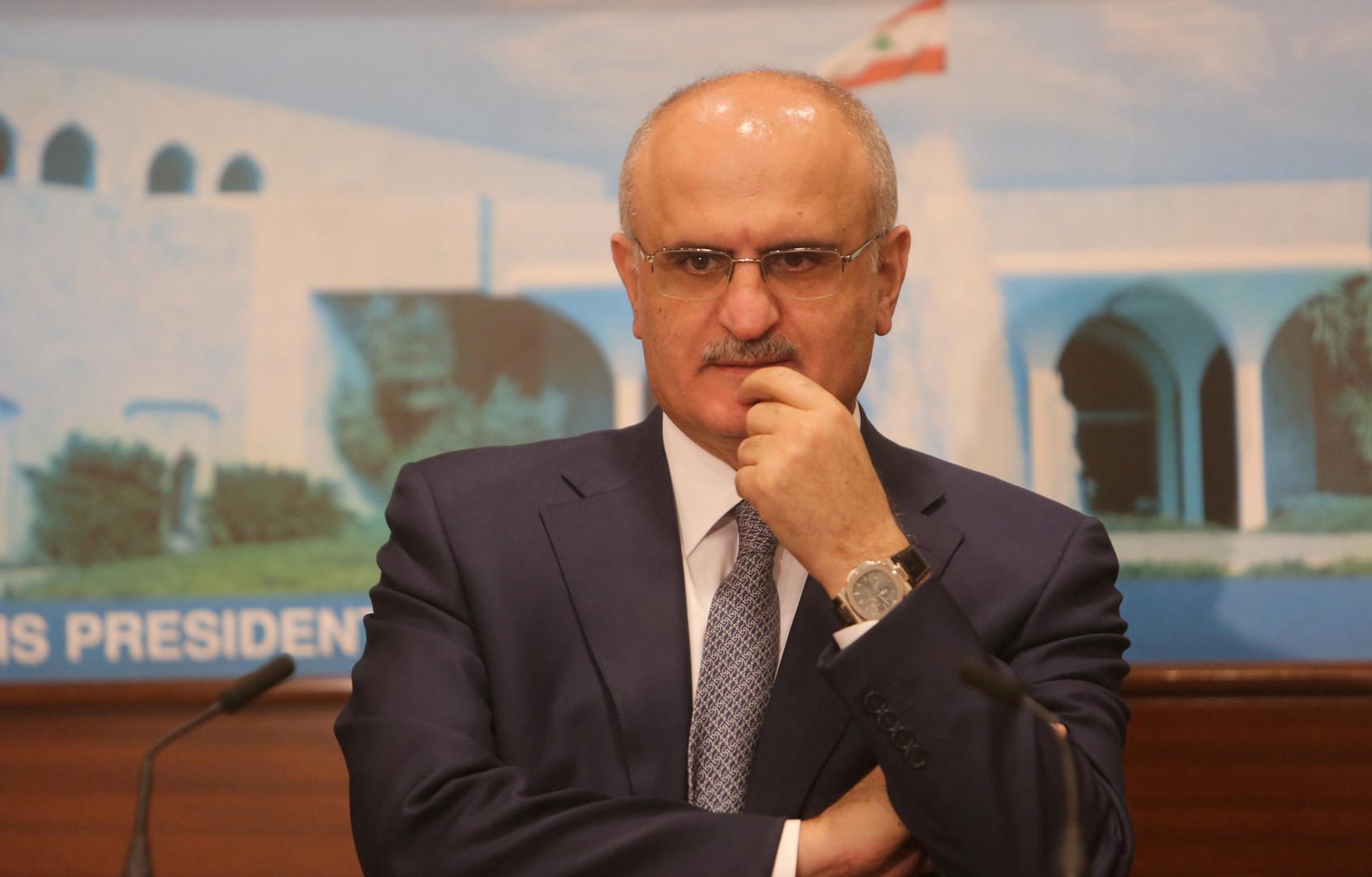 وزير المالية اللبناني علي حسن خليل