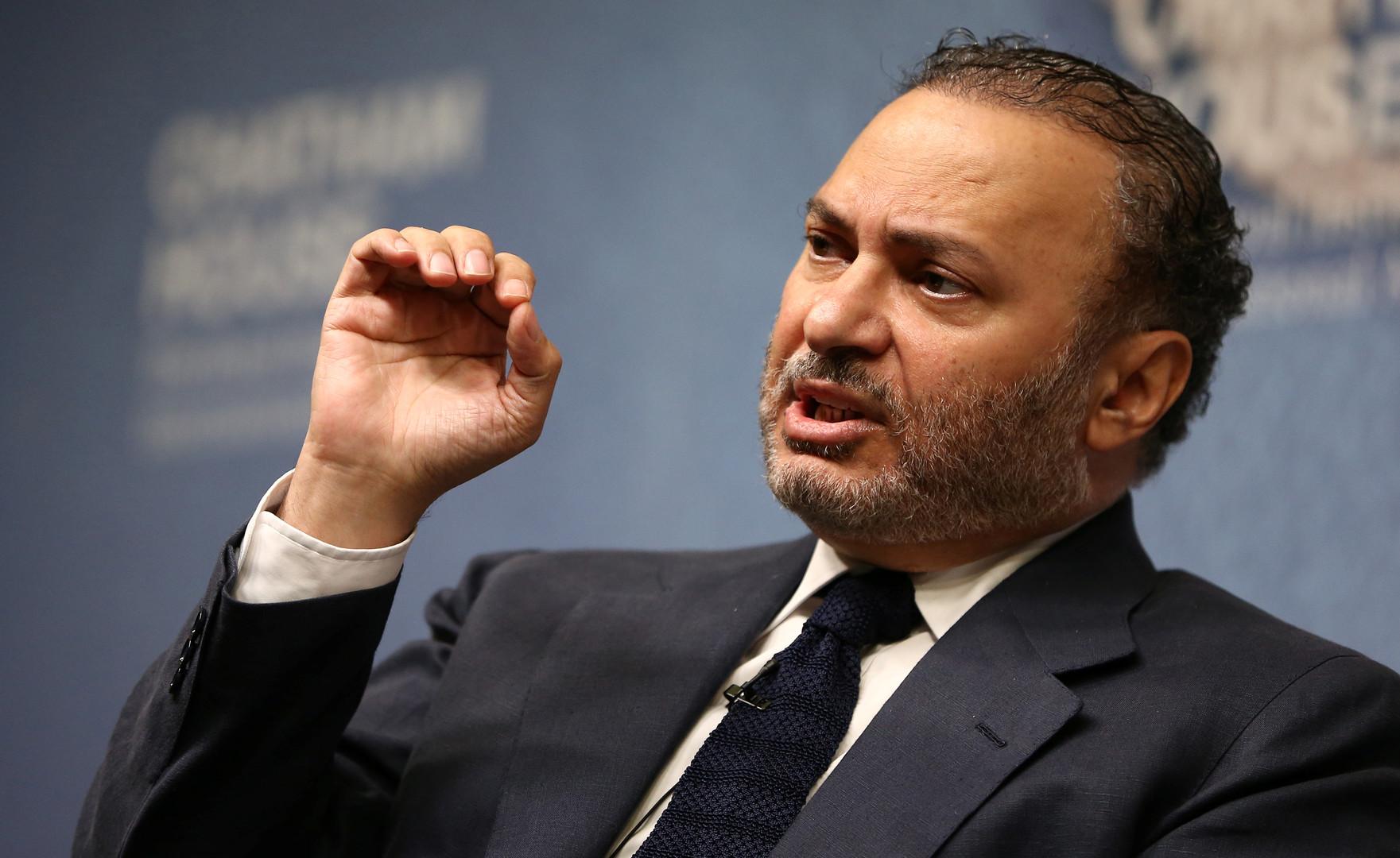وزير الدولة للشؤون الخارجية الإماراتي ، أنور قرقاش