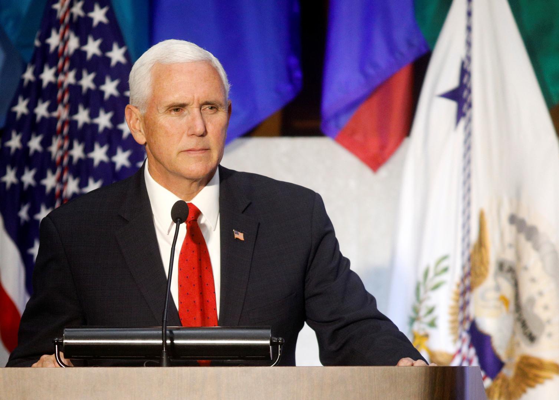 نائب الرئيس الأمريكي يتهم إيران بالسعي لإنشاء