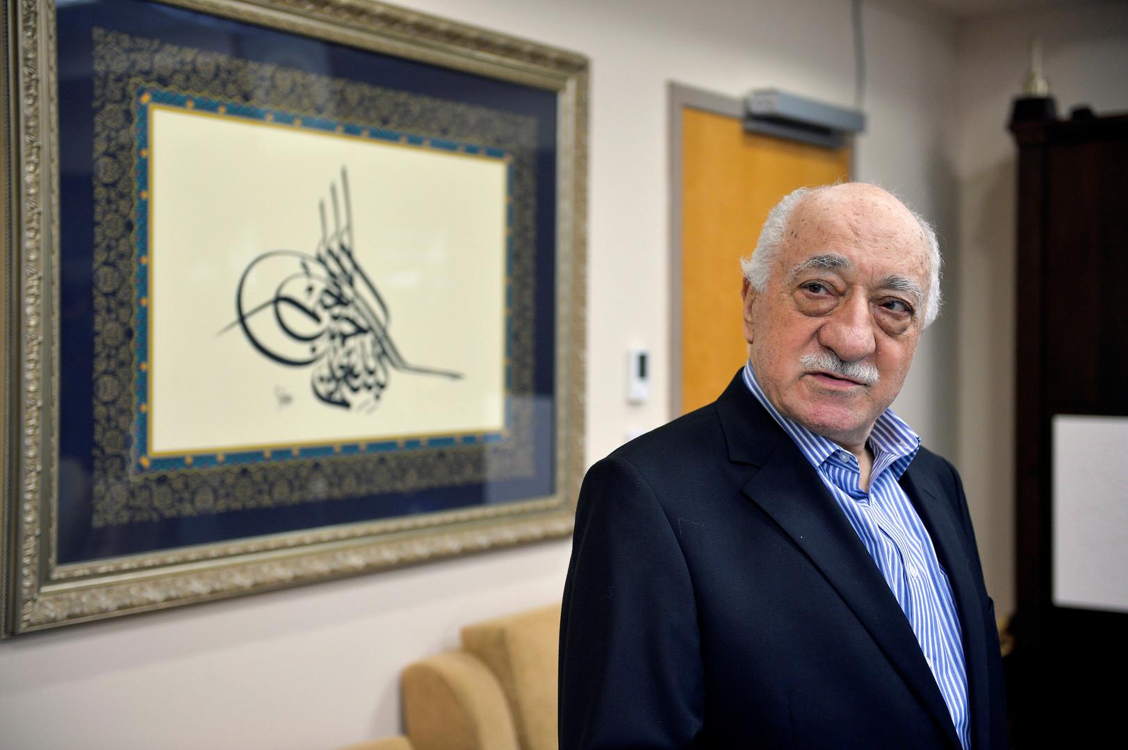 الداعية الاسلامي المعارض فتح الله غولن