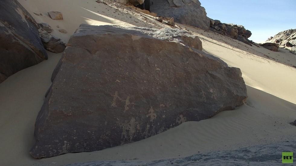 العثور على أوائل النقوش الملكية في مصر! (صور)