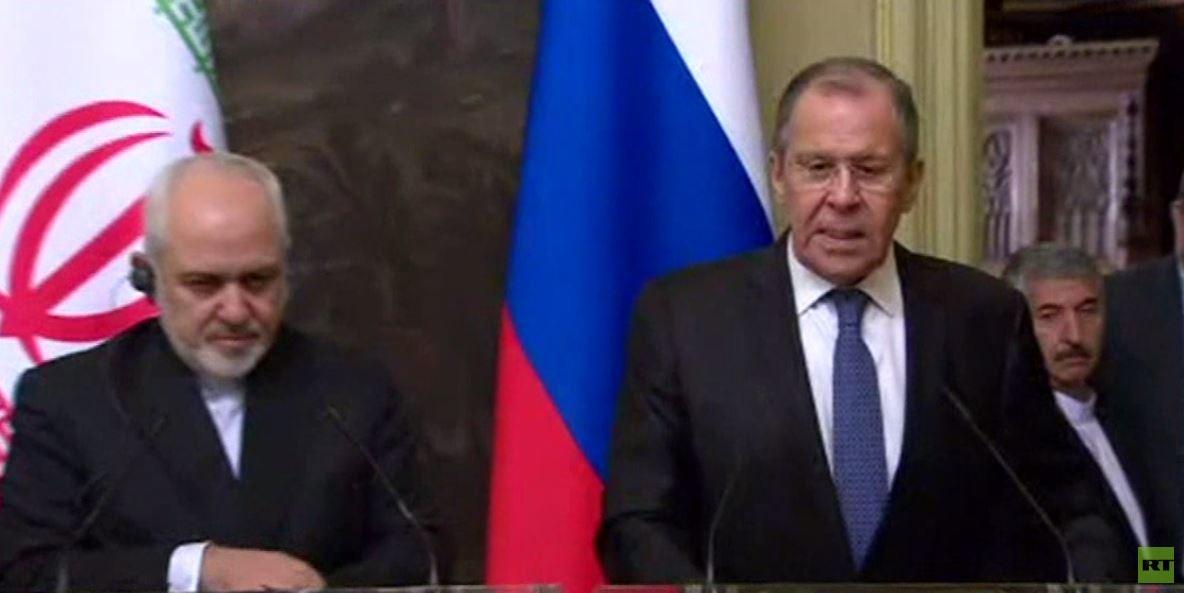 لافروف: سنواصل ضرباتنا على الإرهابيين في إدلب
