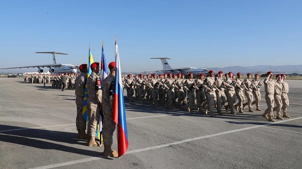 الدفاع الروسية: القضاء على مسلحين قصفوا قاعدة حميميم في سوريا بـ 12 قذيفة
